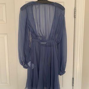 Valentino sheer backless dress size 4 spring 17